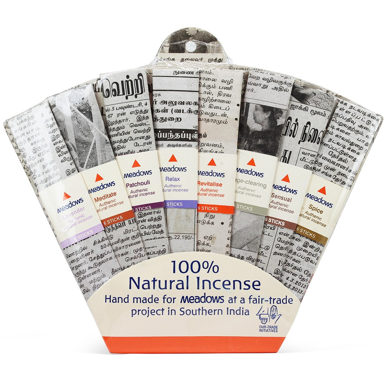 Variety Incense Sticks Fan Pack
