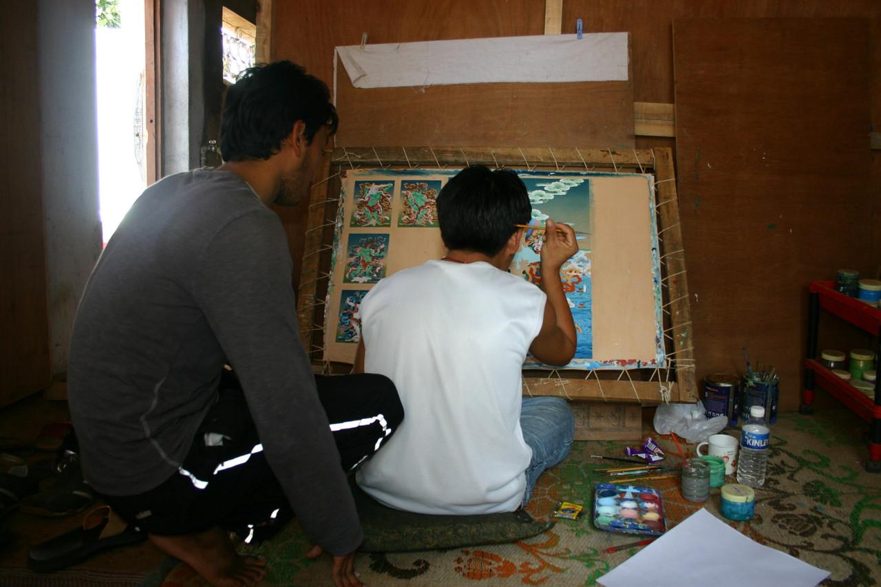 Tibetan Artists