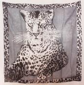 Leopard scarf