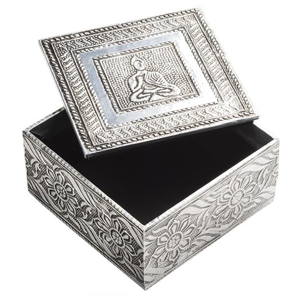 Embossed Buddha Design Box