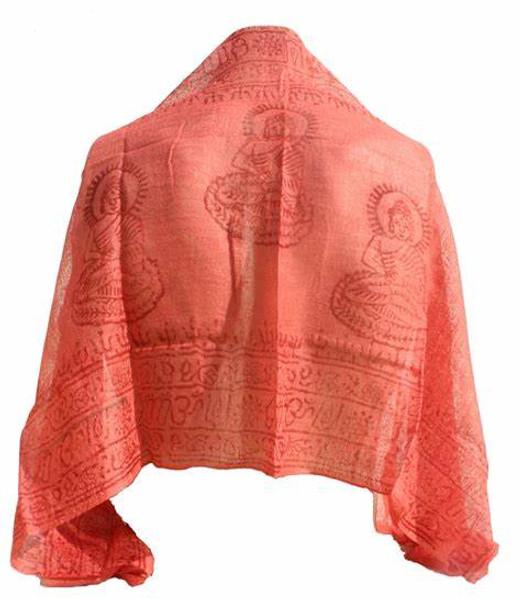 Deity scarf, om scarf