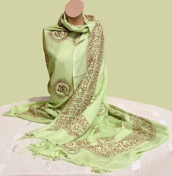 medium weight deity shawl