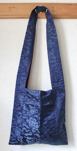 Tibetan silky lama bag