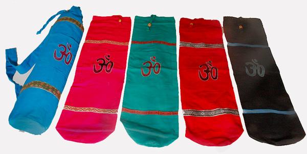 Om yoga mat storage bag