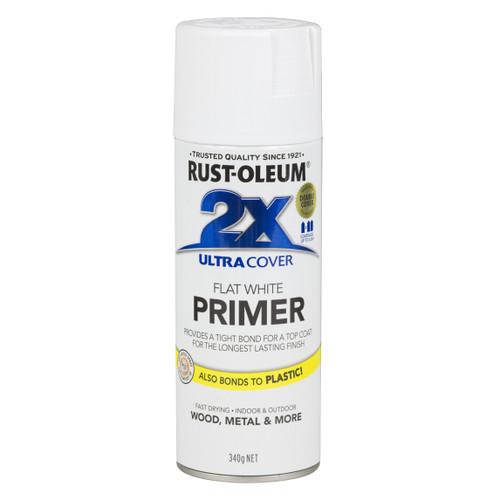 2X Ultra Cover - Primer White - 12Oz.