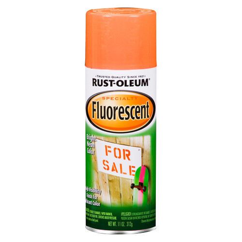 Specialty - Fluorescent - Orange - 11oz Spray