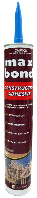 H B FULLER MAX BOND CONSTRUCTION ADHESIVE 375ML