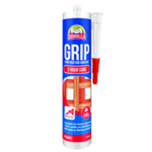 GORILLA GRIP 2 HOUR CONSTRUCTION ADHESIVE - CARTRIDGE - 310ML