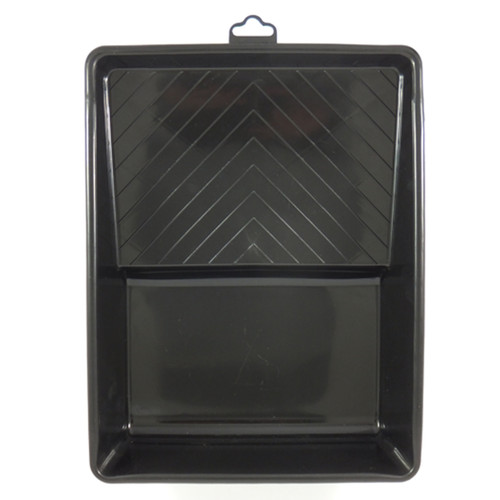180mm Paint Tray - Plastic - Black