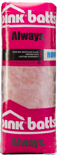 PINK BATTS CLASSIC R3.6 CEILING 1220mm x 432mm 7.4MR/Bale