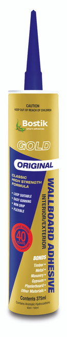 Bostik Wallboard Gold Adhesive Cylinder 375 ML
