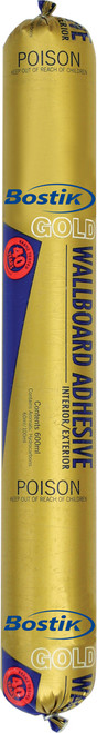 Bostik Wallboard Gold Adhesive Sausage 600ML