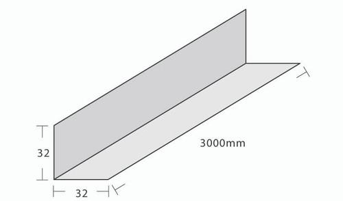 NZ18 Perim. Angle 32x32x3000mm