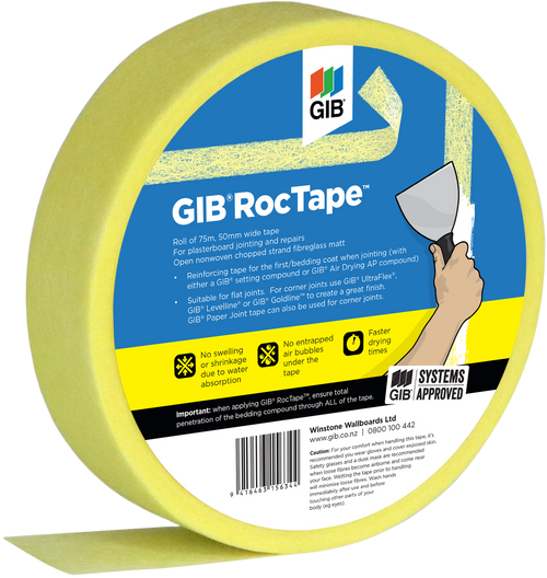 GIB RocTape 50mm wide 75m roll