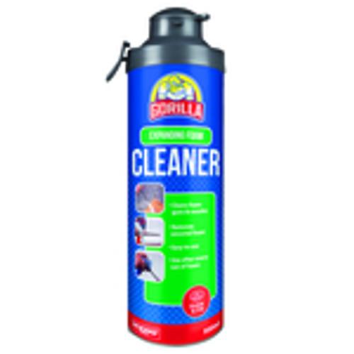 Gorilla Expanding Foam Cleaner 500ml Click & Fix