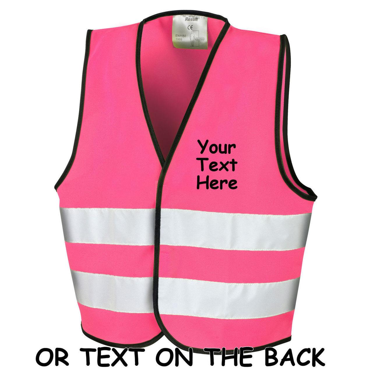 Clothing, Shoes & Accessories Protective Jackets Childrens Kids High Visibility Hi Vis Viz Waistcoats En1150