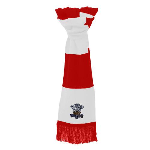 Cymru Wales retro rugby scarf