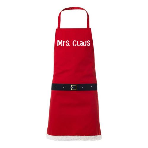 Mrs Claus novelty apron
