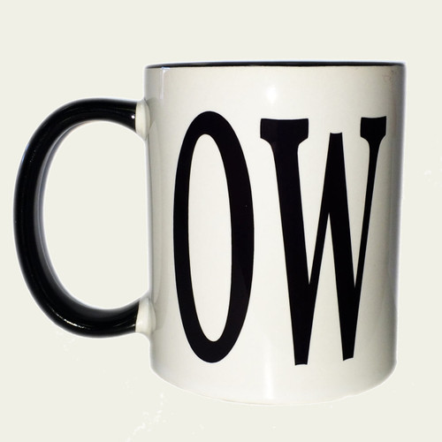 Cow novelty mug for mother-in-law, wife, best friend who you can joke with