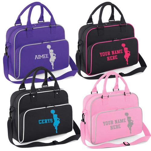 Cheerleader Personalised Girls Shoulder Bag Free Printing Cheer Accessories