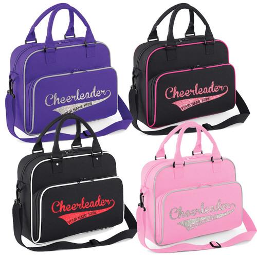 Girls Personalised Cheerleader Shoulder Bag Free Printing Cheer Accessories