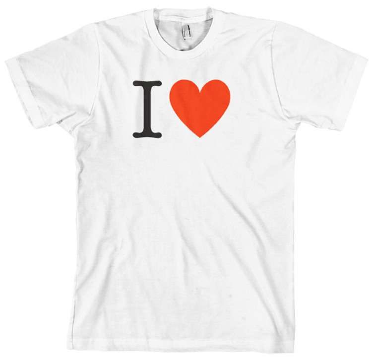 Customise your own I Heart tshirt