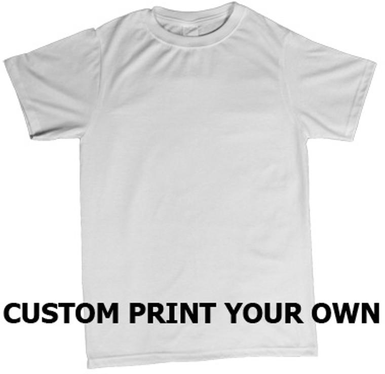 custom print your own t shirt