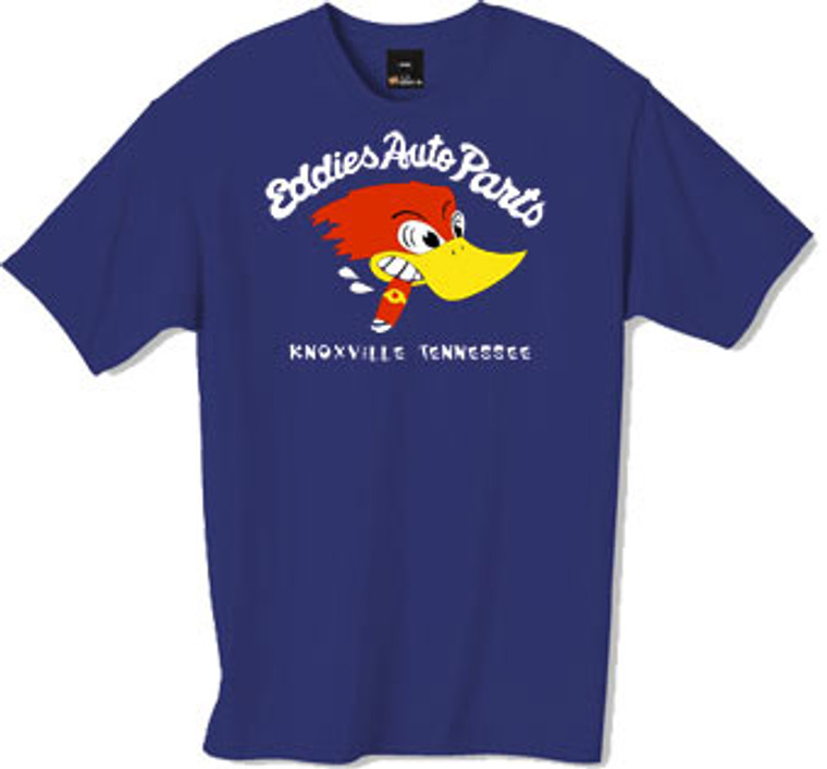 Eddies Auto Parts tshirt from the TV Series Jackass as worn by Johnny Knoxville