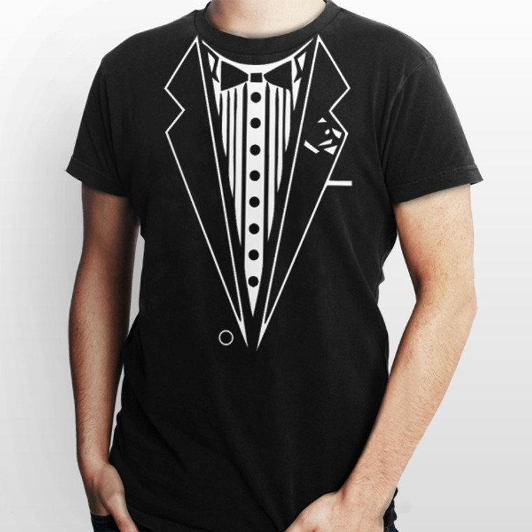 Tuxedo funny Halloween costume outfit