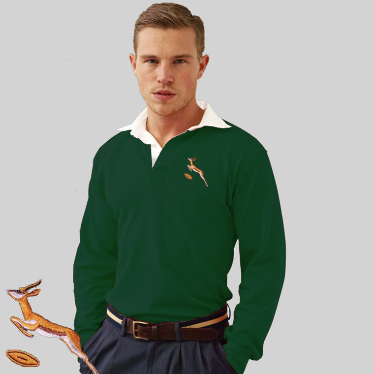 South Africa 1969 retro rugby shirt
