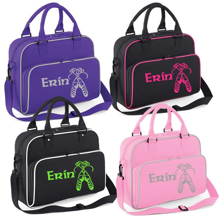 Girls Personalised Irish Dancing Shoulder Bag Free Printing Dance Accessories
