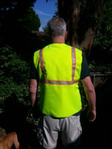 Real Safety Vests Consider the Thermo temperature of the worker.