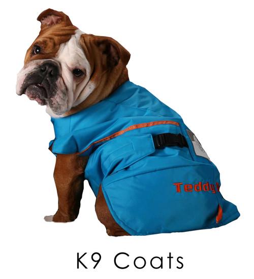 Full cut coat for English Bulldogs