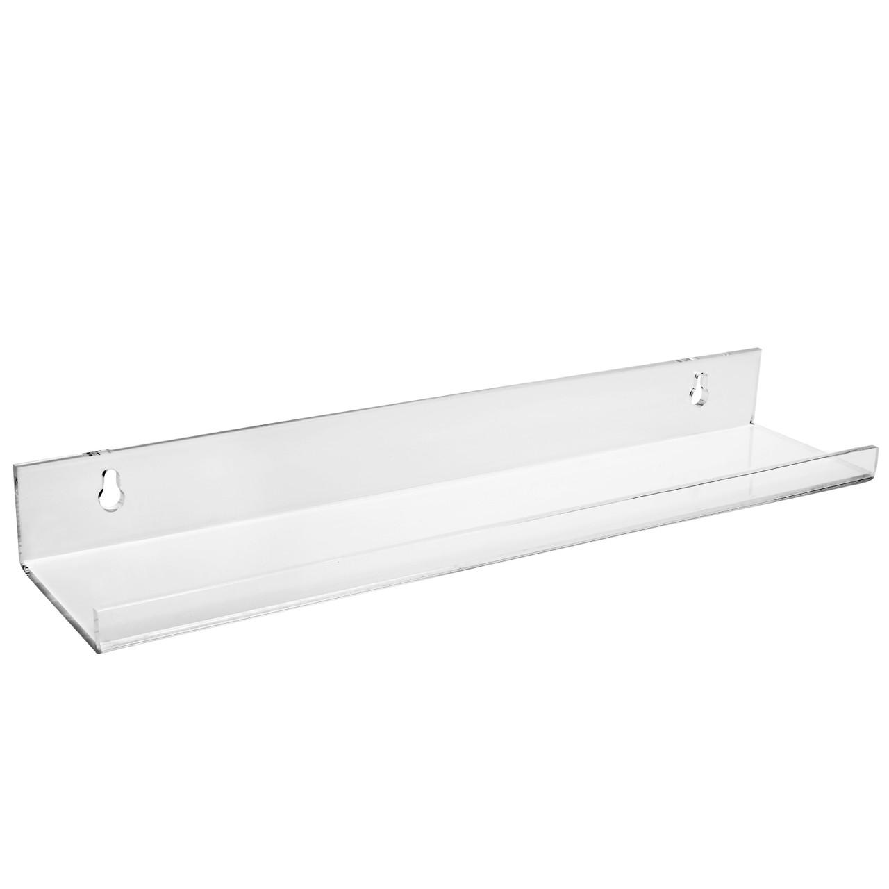 15 Acrylic Floating Wall Mounting Shelf