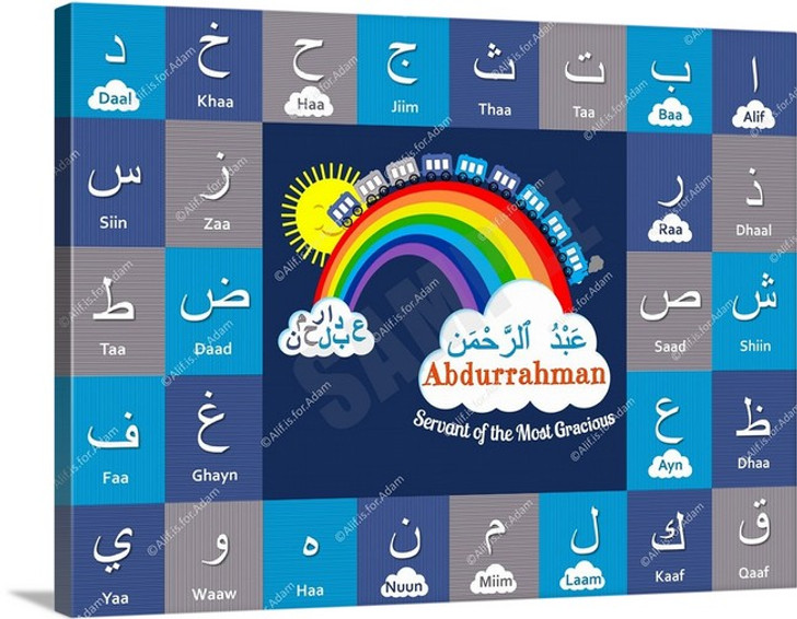 I Can Spell My Name ~ Cool Blue - Abdurrahman