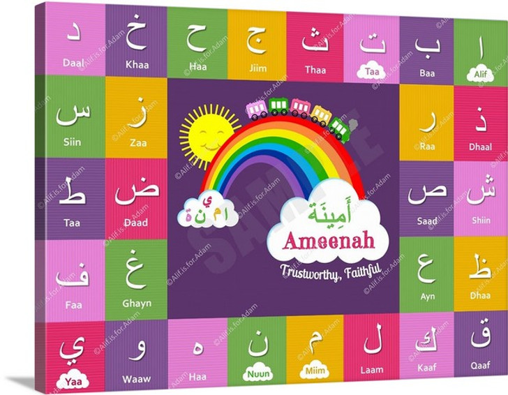 I Can Spell My Name - Girly Girl - Ameenah