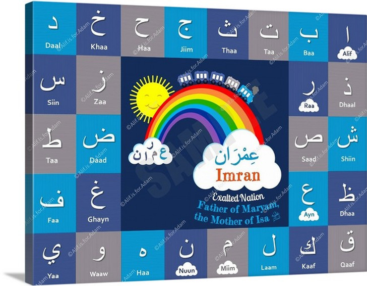 I Can Spell My Name ~ Cool Blue - Imran
