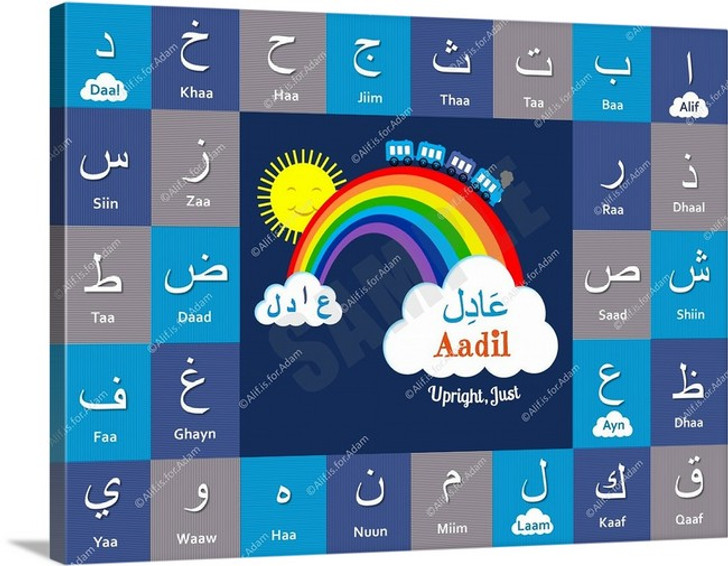 I Can Spell My Name ~ Cool Blue - Aadil