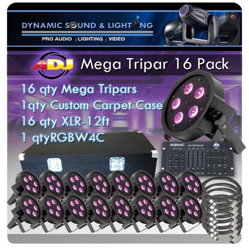 American DJ Mega Tripar 16 Pack