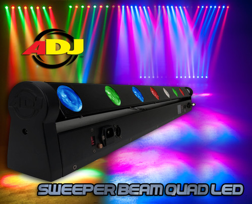 Sweeper Beam Quad LED