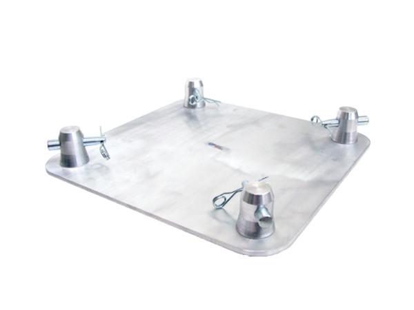 "GLOBAL TRUSS SQ-4137 12""x12"" Aluminum Base Plate"