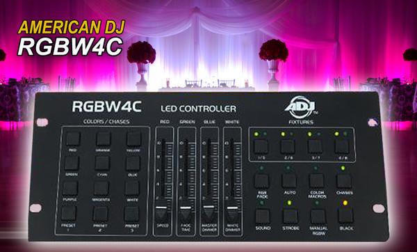 ADJ RGBW4C DMX Controller