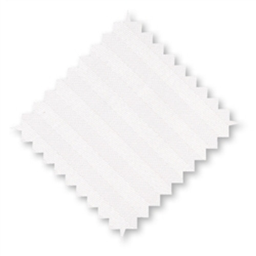 "Cotton Pillow Cases White Stripes *Junior Size* 16x24"" - set of 2"
