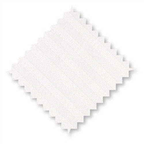 Cotton Pillow Cases White Stripes Standard Size (set of 2)