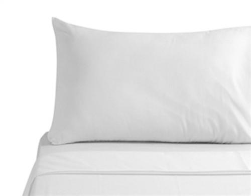 """100% Egyptian Cotton Euro King size Duvet Cover Case """"Classic White"""" 260x220cm"""