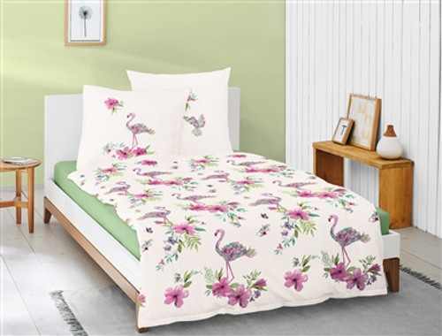 Duvet Cover Set FLAMINGO