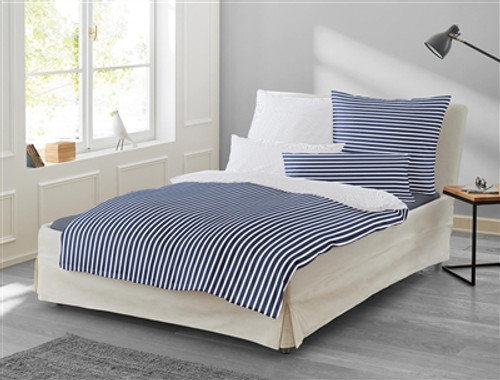 Duvet Cover Set NORA navy