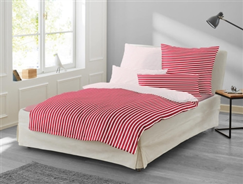 Duvet Cover Set NORA red