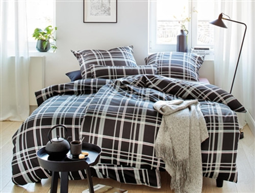 Duvet Cover Set PLAID *organic cotton*