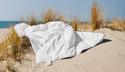 "Scandinavian GOOSE EUROPEAN TWIN Down Comforter SUMMER 55x79"" fill power 675 *back in stock*"